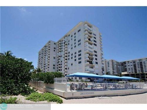 Photo of 2000 S Ocean Blvd #3J, Lauderdale By The Sea, FL 33062 (MLS # F10286431)