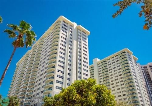 Photo of 3400 Galt Ocean Dr #607S, Fort Lauderdale, FL 33308 (MLS # F10256435)