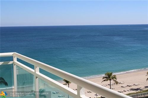 Photo of 3900 Galt Ocean Dr #804, Fort Lauderdale, FL 33308 (MLS # F10202438)