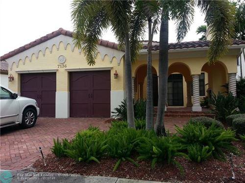 Photo of 7136 Spyglass Ave, Parkland, FL 33076 (MLS # F10236438)