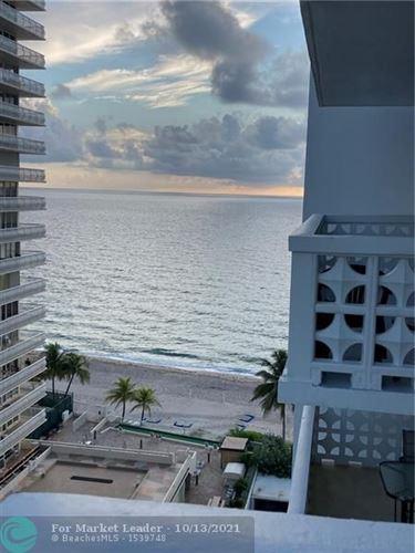 Photo of 4010 Galt Ocean drive #1115, Fort Lauderdale, FL 33308 (MLS # F10304440)
