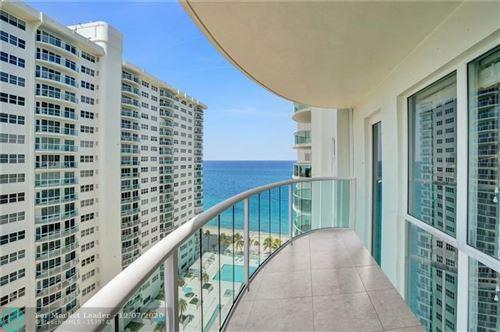 Photo of 3400 Galt Ocean Drive #1509 S, Fort Lauderdale, FL 33308 (MLS # F10234442)