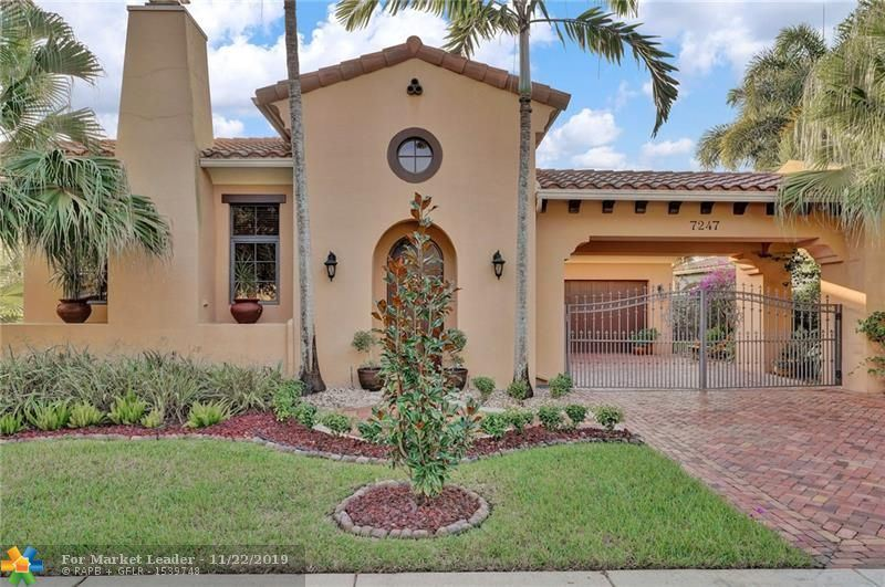 Photo for 7247 Wisteria Ave, Parkland, FL 33076 (MLS # F10204442)