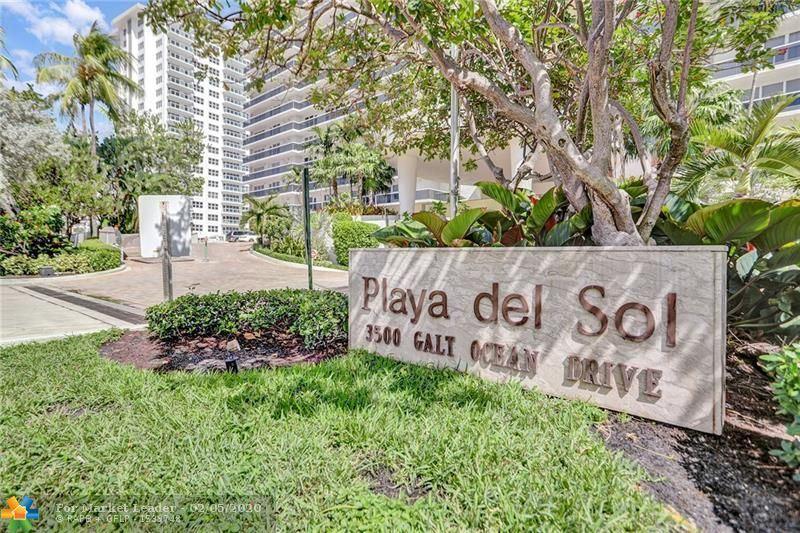 Photo of 3500 Galt Ocean Dr #602, Fort Lauderdale, FL 33308 (MLS # F10198450)