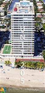 Photo of 4020 Galt Ocean Drive #205, Fort Lauderdale, FL 33308 (MLS # F10107455)