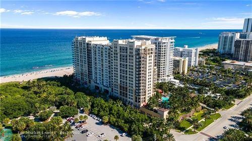 Photo of 3800 N Ocean Drive #608, Singer Island, FL 33404 (MLS # F10301462)