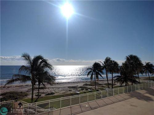 Foto de inmueble con direccion 1051 Hillsboro Mile #308E Hillsboro Beach FL 33062 con MLS F10231467