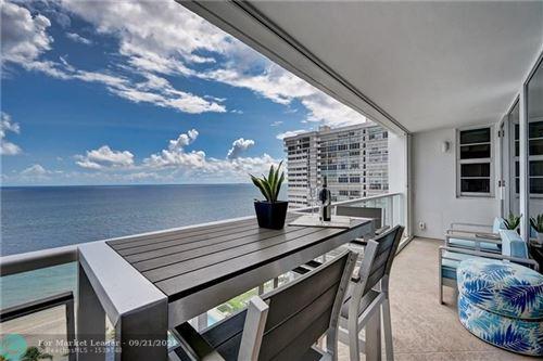 Photo of 4300 N Ocean Blvd #19D, Fort Lauderdale, FL 33308 (MLS # F10301470)