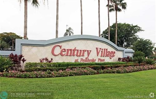 Photo of 700 SW 128th Ave #C106, Pembroke Pines, FL 33027 (MLS # F10284471)