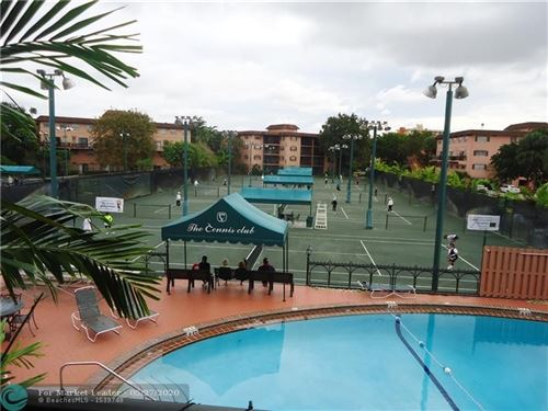 Photo of 660 TENNIS CLUB DR #305, Fort Lauderdale, FL 33311 (MLS # F10230472)