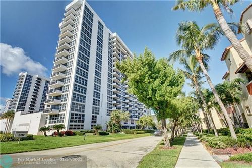Photo of 531 N Ocean Boulevard #902, Pompano Beach, FL 33062 (MLS # F10268473)