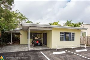 Photo of 631 NE 17th Way #4, Fort Lauderdale, FL 33304 (MLS # F10196475)