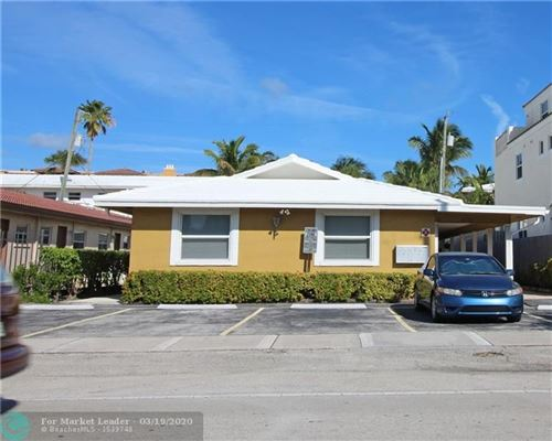 Photo of 4440 Bougainvilla Dr #4, Lauderdale By The Sea, FL 33308 (MLS # F10221475)