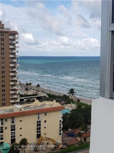 Photo of 1950 S Ocean Dr #14F, Hallandale, FL 33009 (MLS # F10255475)
