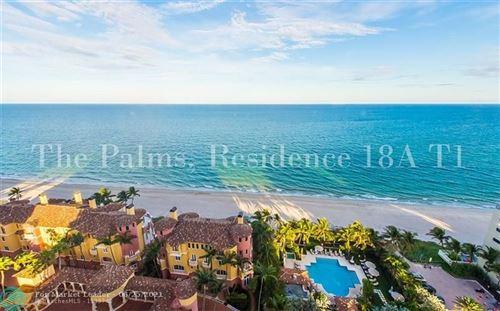 Photo of 2100 N Ocean Blvd #18A, Fort Lauderdale, FL 33305 (MLS # F10200476)