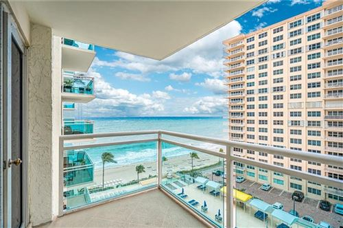 Photo of 3900 Galt Ocean Dr #803, Fort Lauderdale, FL 33308 (MLS # F10270476)