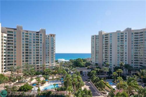 Foto de inmueble con direccion 3720 S Ocean Blvd #906 Highland Beach FL 33487 con MLS F10236477