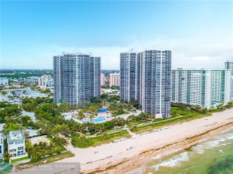 Photo of 3100 N Ocean Blvd #1607, Fort Lauderdale, FL 33308 (MLS # F10292477)