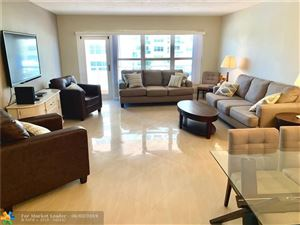 Photo of 3850 Galt Ocean Dr #308, Fort Lauderdale, FL 33308 (MLS # F10178478)