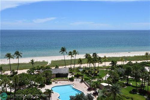 Photo of 5100 N Ocean Blvd #1113, Lauderdale By The Sea, FL 33308 (MLS # F10244478)