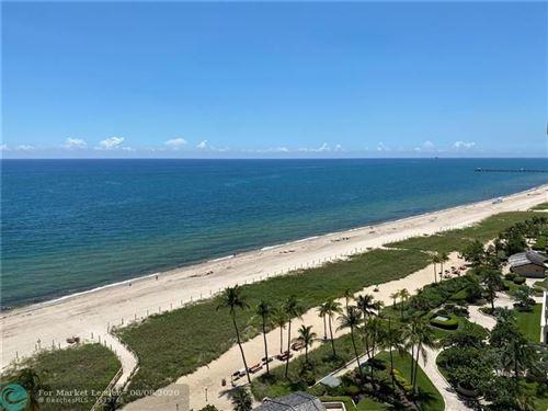 Photo of 5100 N Ocean Blvd #1507, Lauderdale By The Sea, FL 33308 (MLS # F10241479)