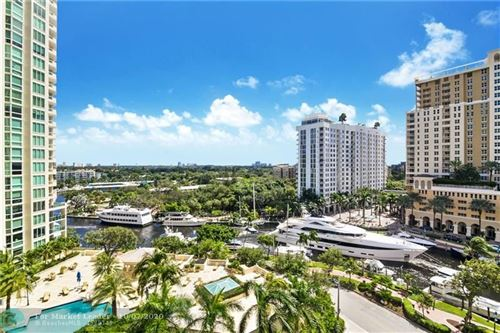 Photo of 347 N New River Dr E #1001, Fort Lauderdale, FL 33301 (MLS # F10252480)