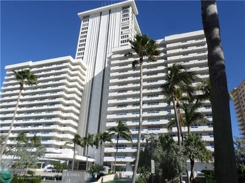 Photo of 3900 Galt Ocean Drive #308, Fort Lauderdale, FL 33308 (MLS # F10265481)