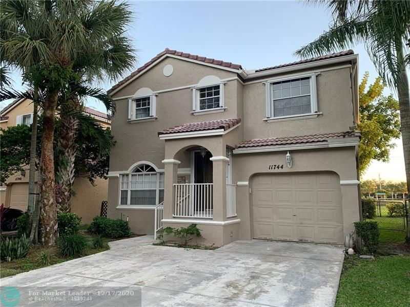 11744 SW 1st St, Coral Springs, FL 33071 - #: F10249481
