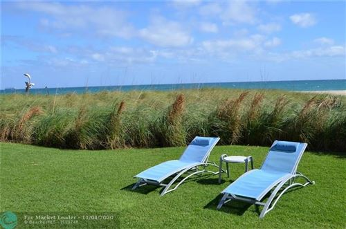 Photo of 1200 Holiday Drive #203, Fort Lauderdale, FL 33316 (MLS # F10199482)