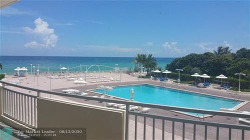 Photo of 3180 S Ocean Dr #211, Hallandale, FL 33009 (MLS # F10243484)