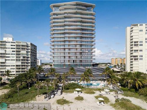 Photo of 730 N Ocean Blvd #1005, Pompano Beach, FL 33062 (MLS # F10267484)