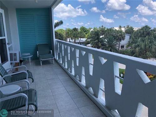 Photo of 2840 N Ocean Blvd #303, Fort Lauderdale, FL 33308 (MLS # F10177489)