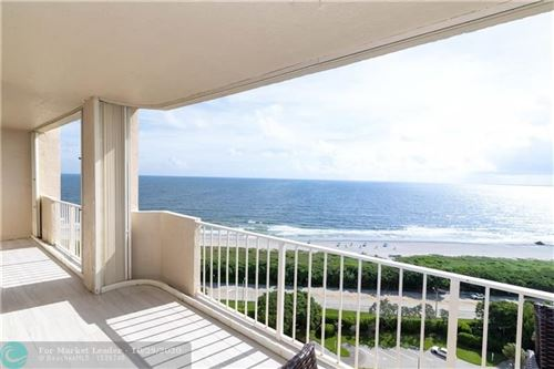 Photo of 4301 N Ocean Boulevard #1706, Boca Raton, FL 33431 (MLS # F10222489)