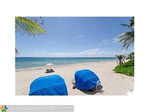 Photo of 4020 Galt Ocean Dr #604, Fort Lauderdale, FL 33308 (MLS # F10118490)