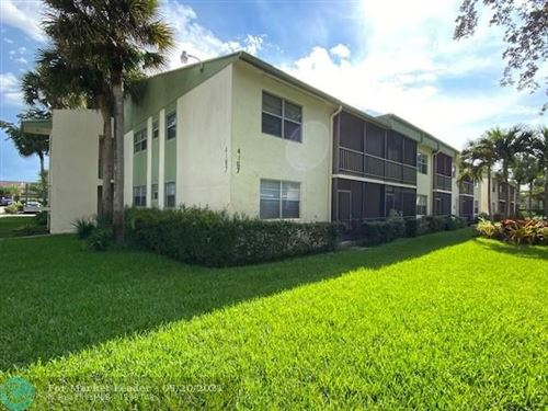 Photo of 4167 NW 90th Ave #102, Coral Springs, FL 33065 (MLS # F10301492)