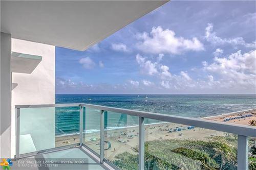 Foto de inmueble con direccion 1610 N Ocean Blvd #1005 Pompano Beach FL 33062 con MLS F10216493