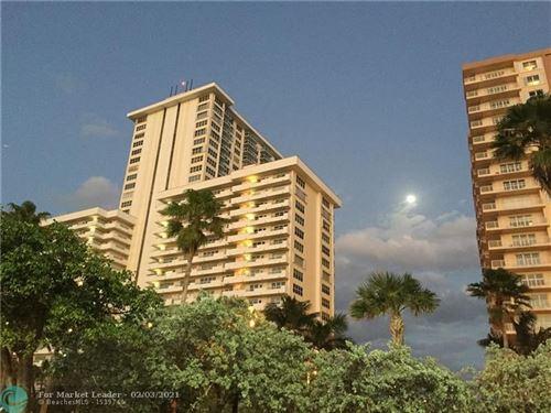 Photo of 3900 Galt Ocean Dr #1803, Fort Lauderdale, FL 33308 (MLS # F10269495)