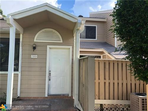 Photo of Listing MLS f10212497 in 7203 Sportsmans Dr #72203 North Lauderdale FL 33068