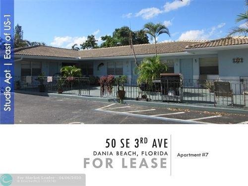 Photo of 50 SE 3 AVE #7, Dania Beach, FL 33004 (MLS # F10224497)