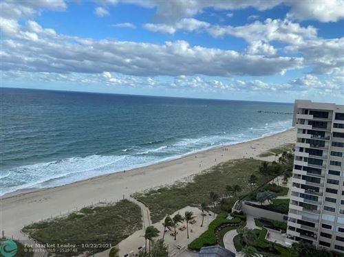 Photo of 5000 N Ocean Blvd #1509, Lauderdale By The Sea, FL 33308 (MLS # F10305498)