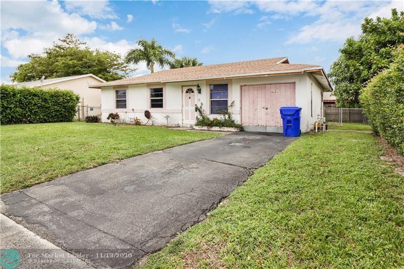 Photo of 8131 SW 5th St, North Lauderdale, FL 33068 (MLS # F10258498)