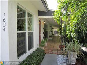 Photo of 1624 NE 1st St #1, Fort Lauderdale, FL 33301 (MLS # F10129502)