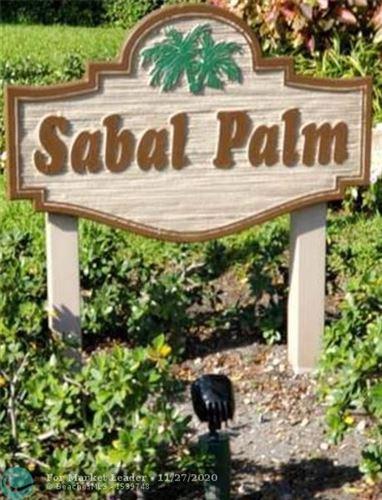 Photo of 9501 Seagrape Dr #205, Davie, FL 33324 (MLS # F10256507)