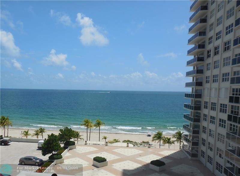 Photo of 3500 Galt Ocean Dr #610, Fort Lauderdale, FL 33308 (MLS # F10297509)