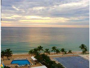 Photo of 4010 Galt Ocean Dr #415, Fort Lauderdale, FL 33308 (MLS # F10139516)