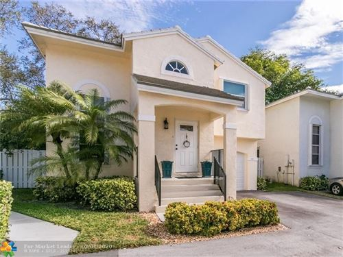 Photo of 9837 NW 2nd St, Plantation, FL 33324 (MLS # F10213522)