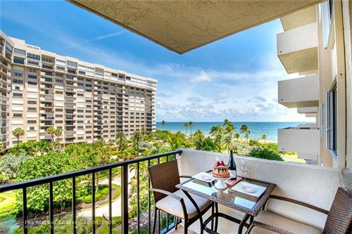 Photo of 5000 N Ocean Blvd #506, Lauderdale By The Sea, FL 33308 (MLS # F10260522)