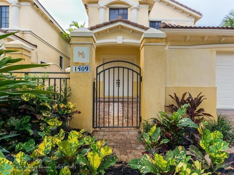 1509 Passion Vine Cir #1-4, Weston, FL 33326 - #: F10275524