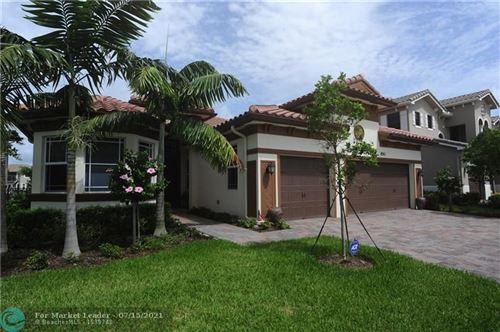 Photo of 8961 Lakeview Place, Parkland, FL 33076 (MLS # F10292527)