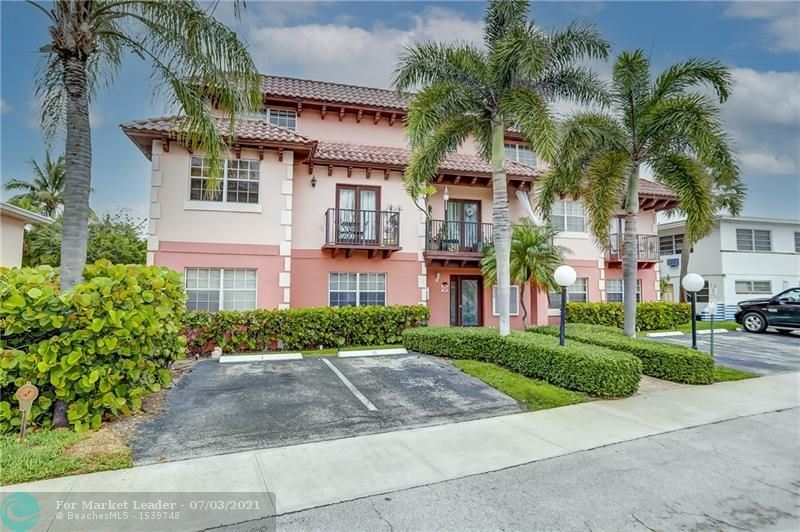 Photo of 4525 Poinciana St #8, Lauderdale By The Sea, FL 33308 (MLS # F10290527)